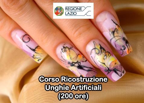 Corso Ricostruzione Unghie Artificiali (200 ore) - Aut. Regione Lazio - Versione Standard