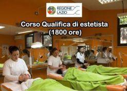 Corso Qualifica di estetista (1800 ore) - Aut. Regione Lazio