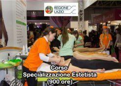 Corso Specializzazione Estetista (900 ore) - Aut. Regione Lazio